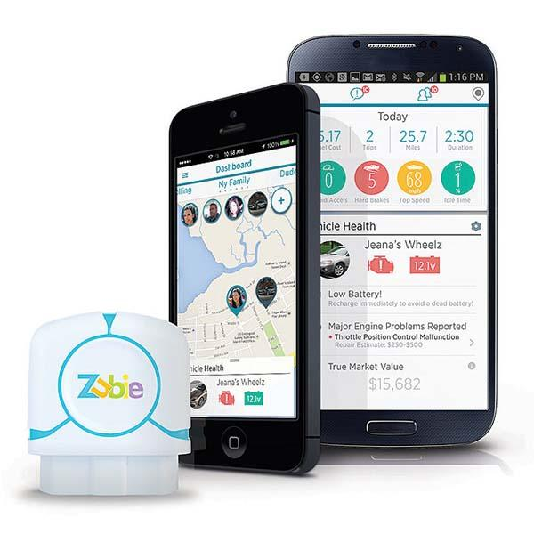 Zubie Tracks Your Vehicle Health and Driving Behavior