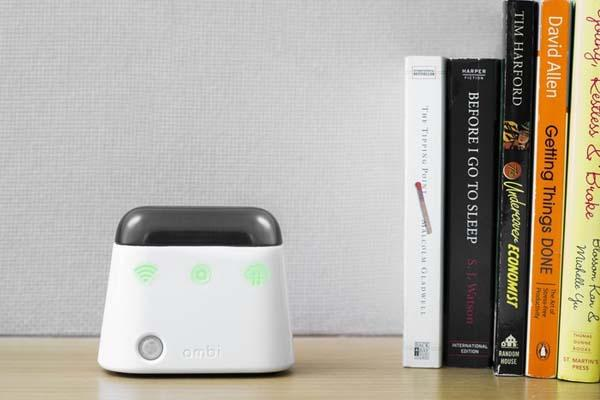 Ambi Climate Turns Air Conditioner into Smart Device