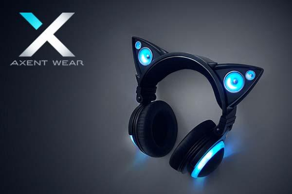 Axent Wear Cat Ear Headphones with External Speakers