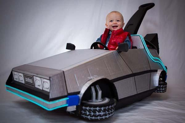 Back to the Future DeLorean Push Car
