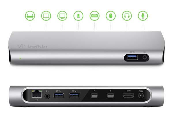 Belkin Thunderbolt 2 Express Dock HD Docking Station