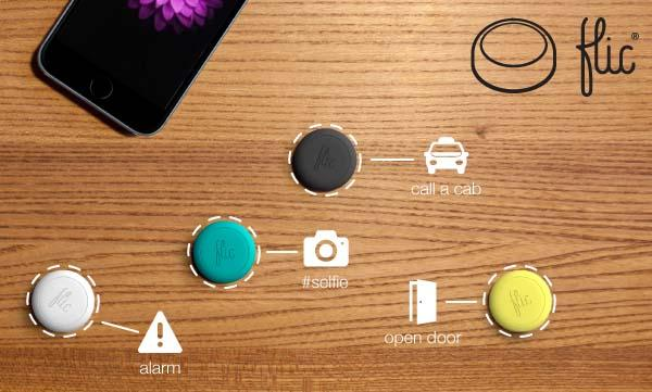 Flic Wireless Smart Button for Smartphones