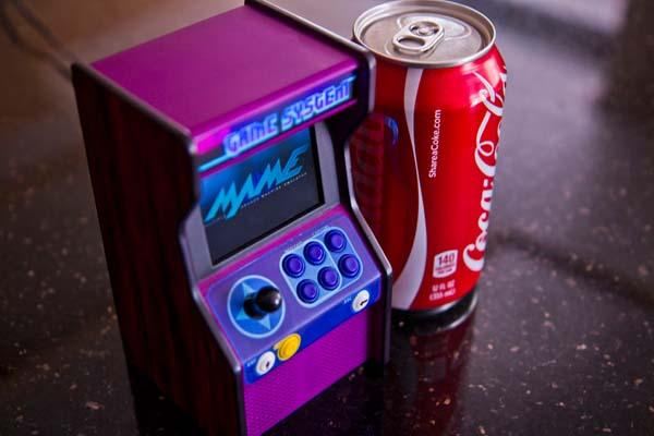 How to Make a Micro Raspberry Pi Powered Arcade Cabinet
