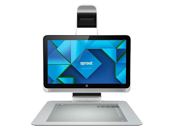 "HP Sprout Desktop Computer with 3D Scanner and 20"" Touch Mat"