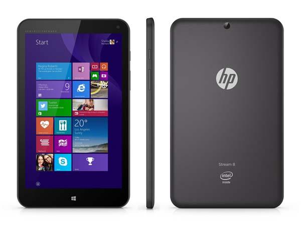 HP Stream Affordable Windows 8.1 Tablets Now Available