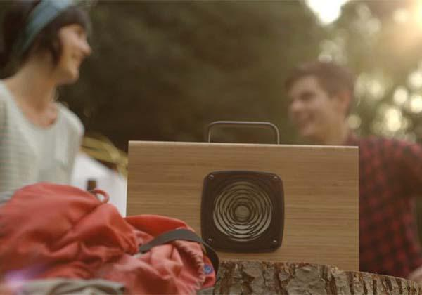 Hydrogen Supercapacitor Powered Portable Bluetooth Speaker
