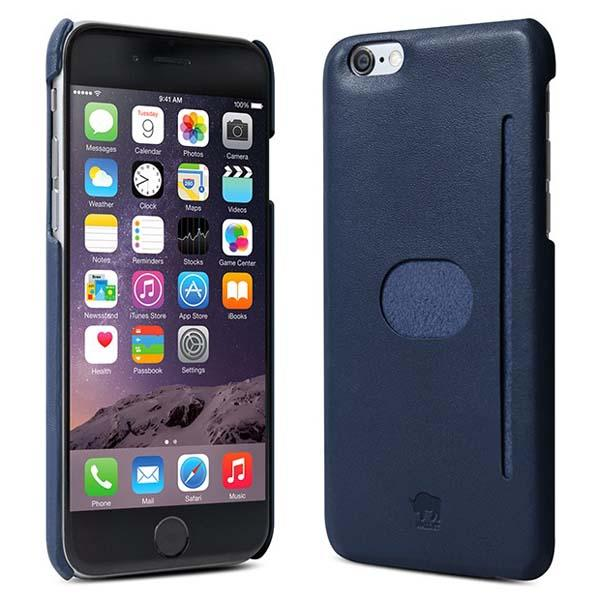 id America Wall St Leather iPhone 6 Case