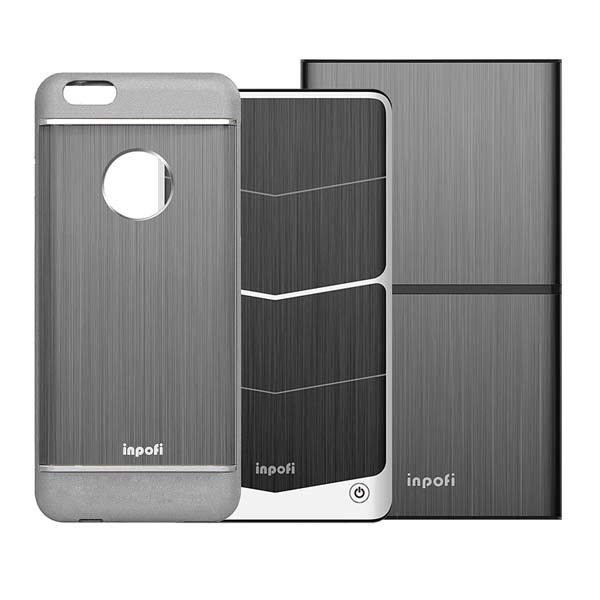 iNPOFi iPhone 6 Case with Wireless Charger and Power Bank