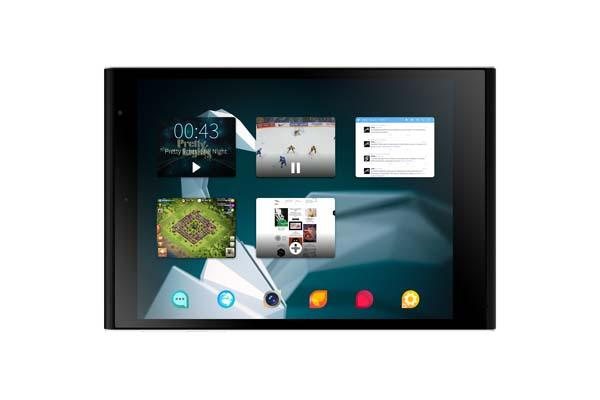 Jolla Tablet Runs Sailfish OS