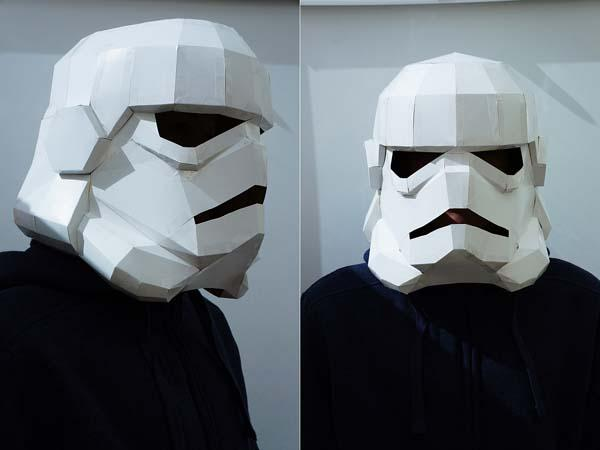 Make a 3D Stormtrooper Helmet for Upcoming Halloween