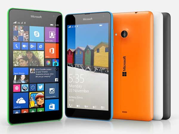 Microsoft Lumia 535 Windows Phone Announced