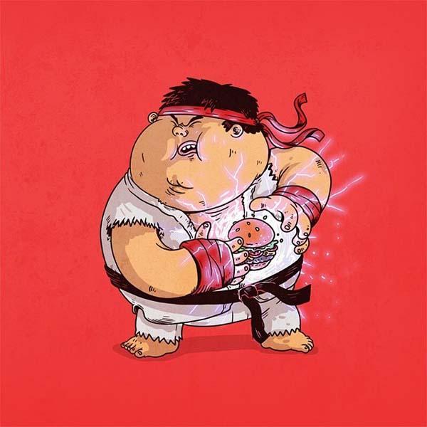 More Chunky Pop Culture Characters Gadgetsin