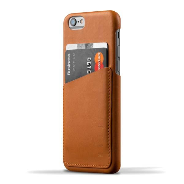 Mujjo iPhone 6 Leather Case with Back Card Pocket