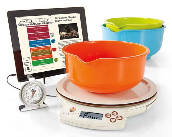 perfect bake app controlled smart scale for perfect baking