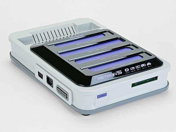 RetroN 5 Game Console Works with Various Game Cartridges