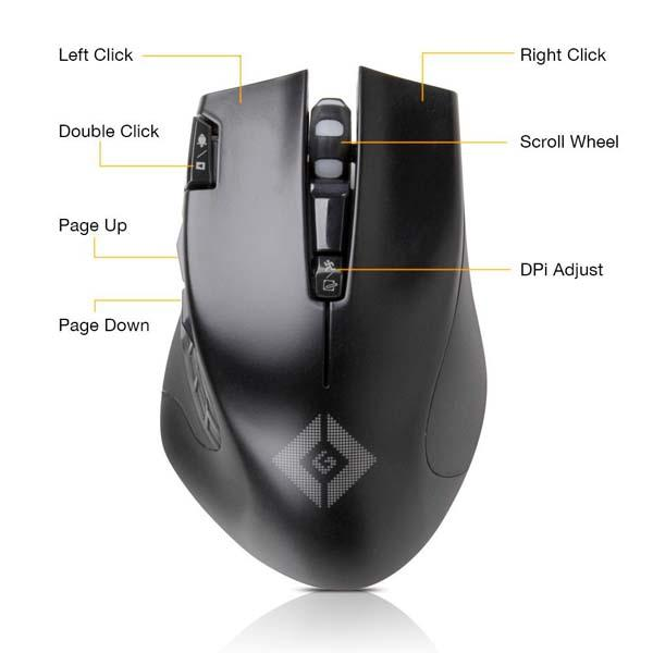 Satechi Edge Wireless Gaming Mouse