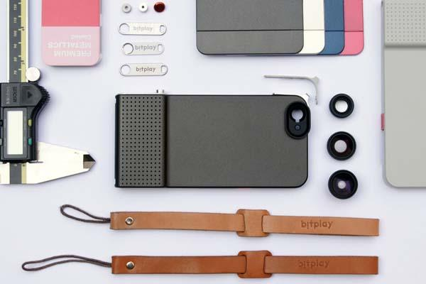 SNAP! 6 iPhone 6 Case with Shutter Button and Interchangeable Lenses