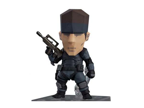 Solid Snake Nendoroid Action Figure