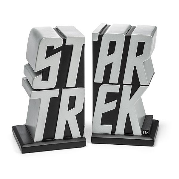 Star Trek Logo Inspired Bookends
