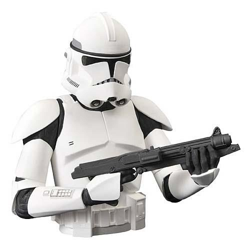 Star Wars Clone Trooper Bust Money Bank