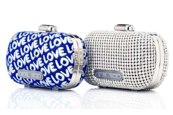 Stelle Audio Mini-Clutch Fashionable Bluetooth Speaker
