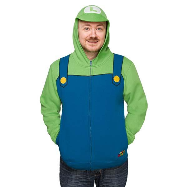 Super Mario and Luigi Hoodies