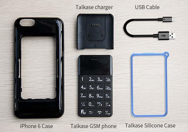 Talkase iPhone 6 Case with an Extra Phone