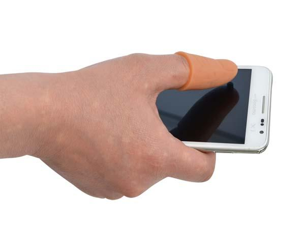 Thanko Thumb Extension Stylus for Your Large-Screen Smartphone
