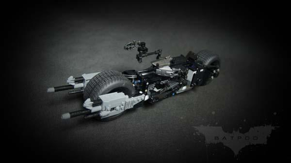 The Amazing Remote Controlled LEGO Batpod