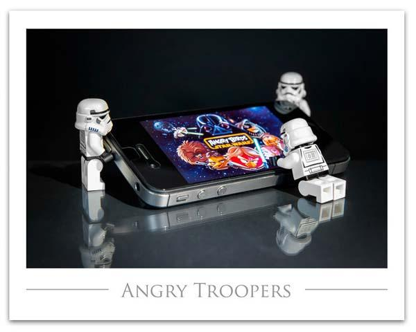 The Art Prints Show The Life of Star Wars LEGO Minifigures