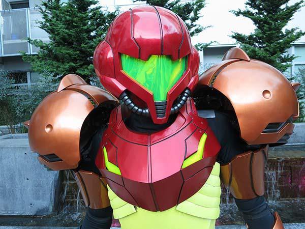 The Awesome 3D Printed Metroid Varia Suit Costume