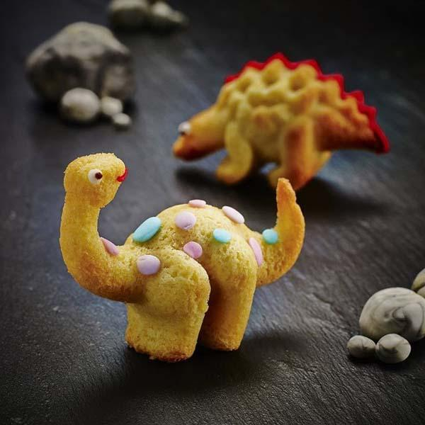 The Cute 3D Dinosaur Cake Mold