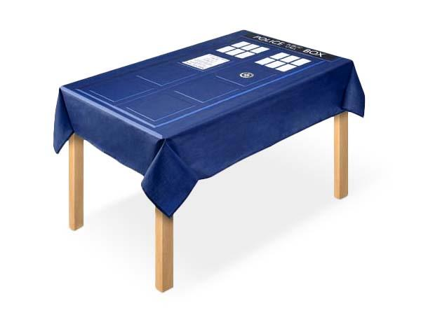 The Doctor Who TARDIS Tablecloth