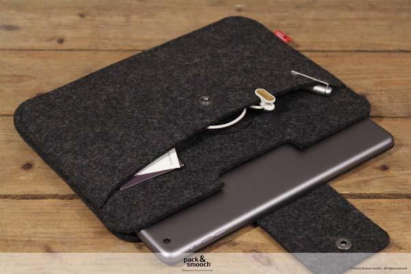 The Handmade Wool Felt Ipad Air 2 Sleeve Gadgetsin