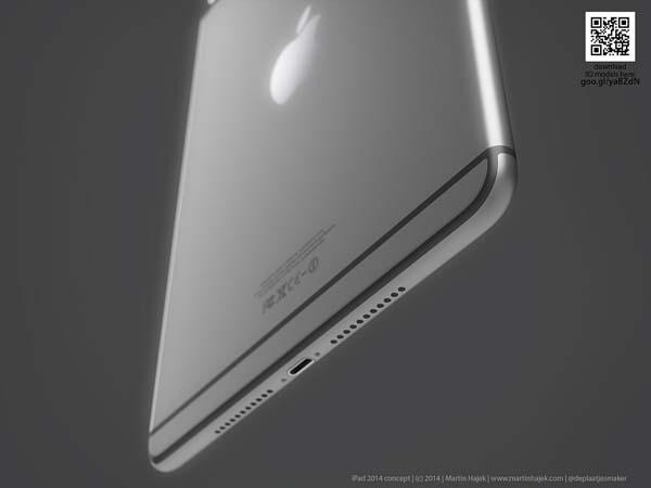 The iPad Air 2 Design Concept Inspired by iPhone 6