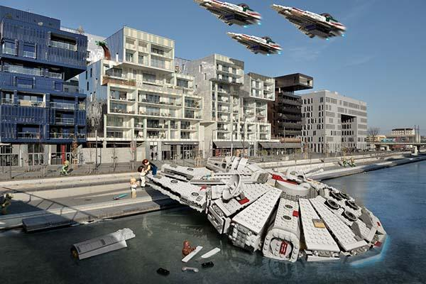 The LEGO Star Wars in Real World