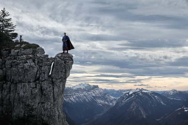 The Lonely Superheroes Captured by Photographer