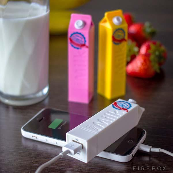 The Long Life Milk Portable Charger