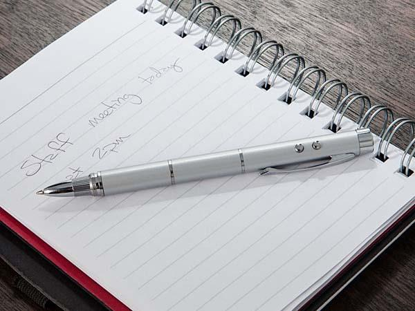 The Pen-Ultimate 5-In-1 Geek Stylus & Pen