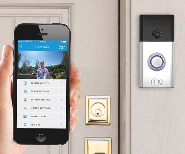 The Ring WiFi Enabled Smart Video Doorbell