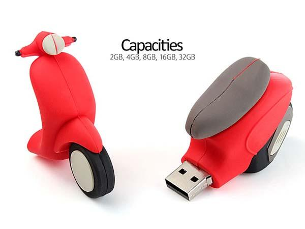 The Scooter USB Flash Drive
