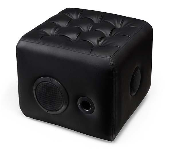 The Sound Lounge Ottaman with Built-in Bluetooth Speaker