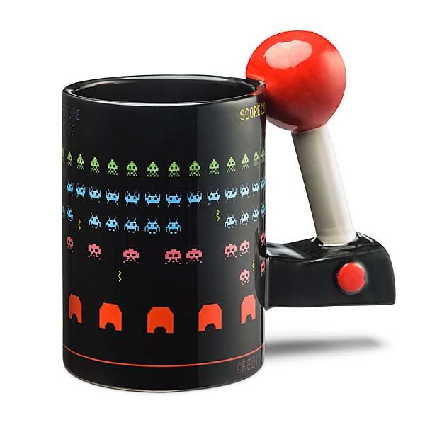 The Space Invaders Inspired 3D Arcade Coffee Mug