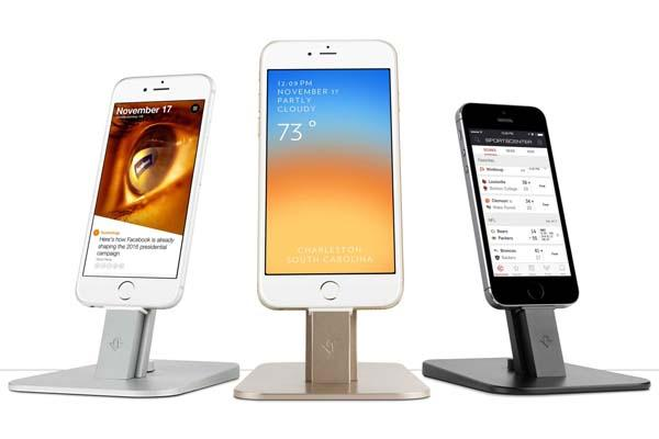 twelve south hirise deluxe charging station for iphone and ipad - Iphone Charging Station