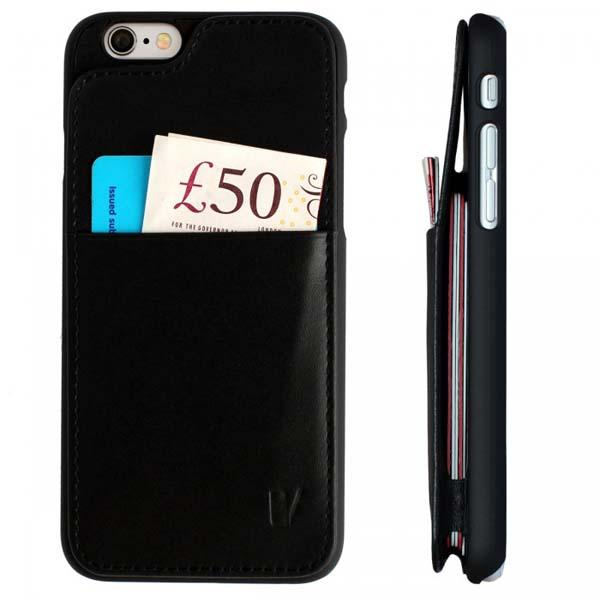 Vaultskin Eton Wallet iPhone 6 Leather Case