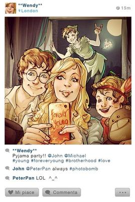 If Disney Characters Had Instagram