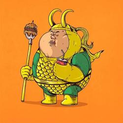 More Chunky Pop Culture Characters