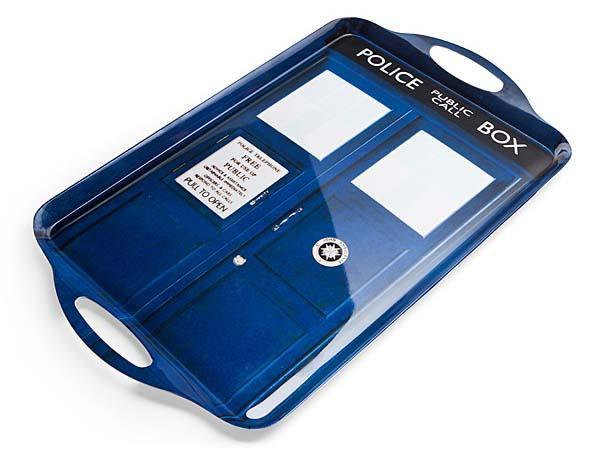 Doctor Who TARDIS Tea Tray and Tea Towels