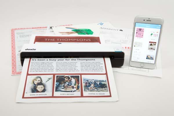 Doxie Go WiFi Wireless Portable Scanner