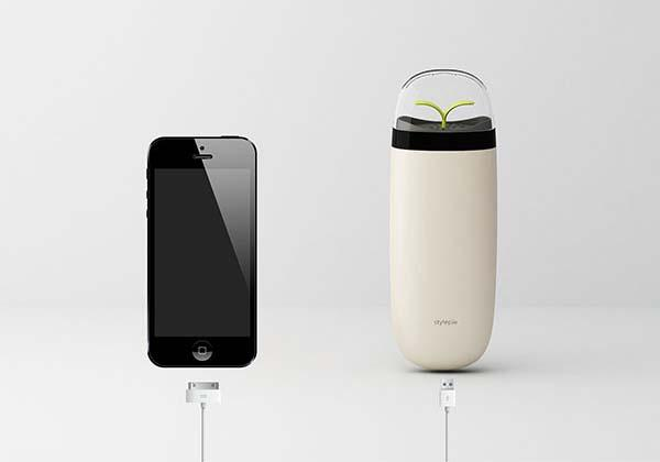 EVE Ionizer Power Bank with Air Purifier